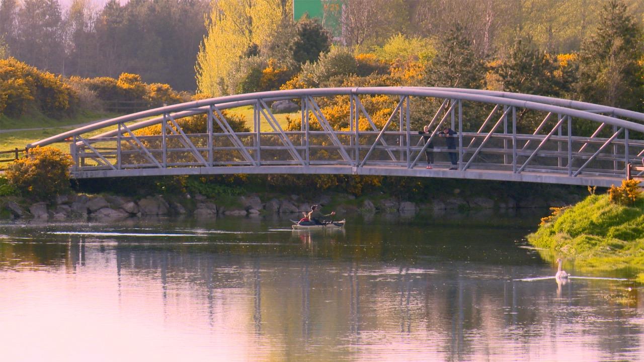 Canoeing Abhainn na Cora