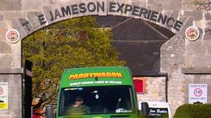 The Jameson Experience, Midleton. Paddywagon Tours.